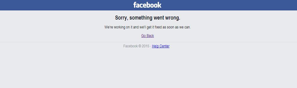Leállt a Facebook error – 2015.09.28. – jól látod!
