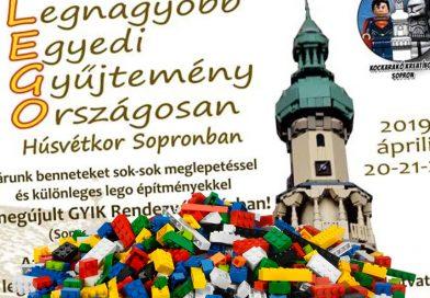 LEGO Kiállítás a GYIK-ban Húsvétkor!