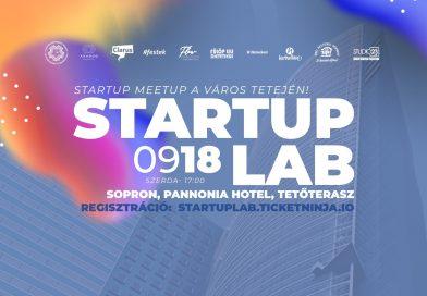 STARTUP SOPRON – StartUP LAB 09/18