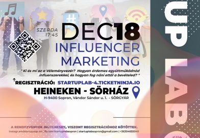 STARTUP LAB – INFLUENCER MARTKETING
