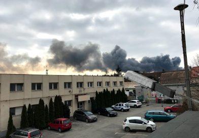 RENDKÍVÜLI TÁJÉKOZTATÁS – tűzeset – fényképekkel