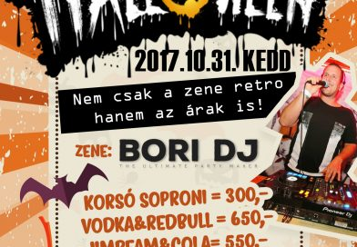Retro Halloween Party a 'Mínuszon