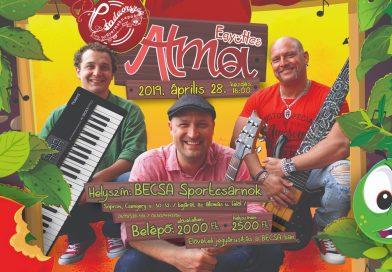 Alma Együttes koncert Sopronban 2019