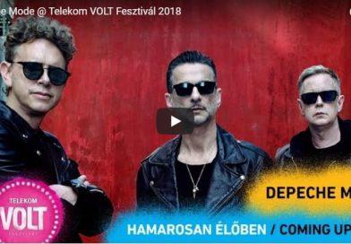 Depeche Mode élőben!