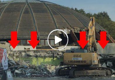Lővér uszoda lebontása videó!